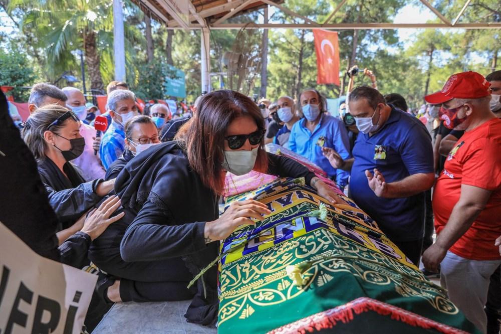 Sunucu Dilay Kemer son yolculuğuna uğurlandı - 7