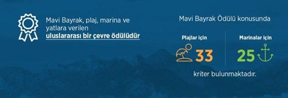 Türkiye'nin mavi bayraklı plajları güncel liste 2021 (En iyi sahiller ve plajlar) - 10
