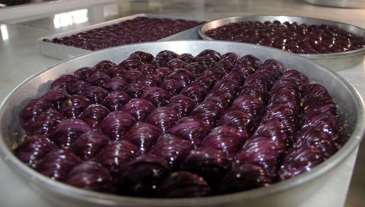 Ramazan'ın gelmesiyle mor baklava siparişi kadayıf dolmasını solladı