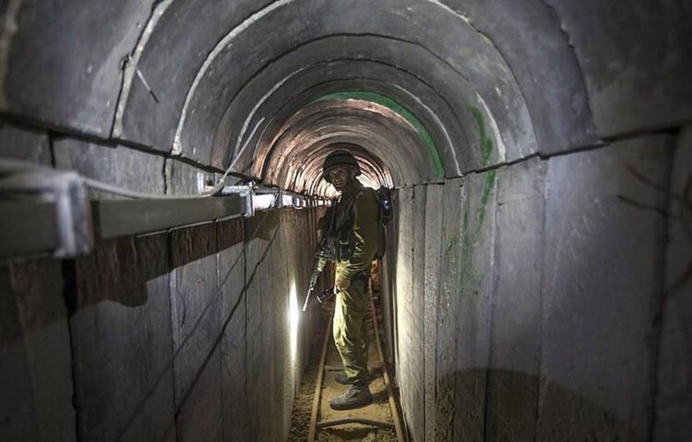 Hamas'ın Gazze'de kullandığı tüneller görüntülendi: İsrail'in hedefinde - 5