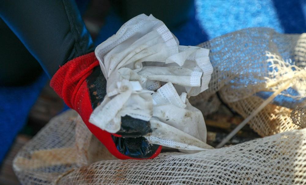 Deniz tabanı maske ve eldiven dolu - 4