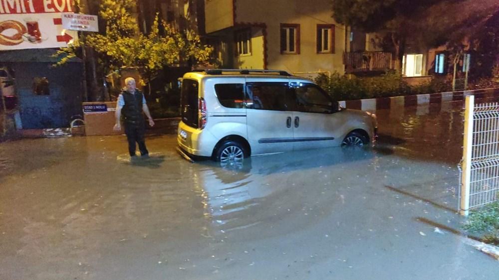 Bursa'yı sağanak vurdu - 8