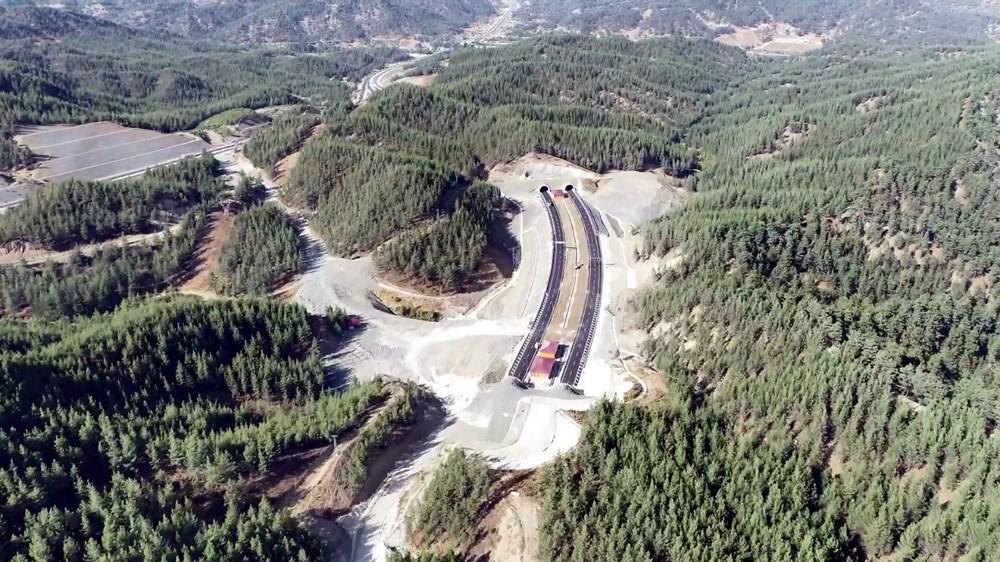 11 tünelli Kahramanmaraş-Göksun yolu açıldı: Süre 39 dakika kısalacak - 6