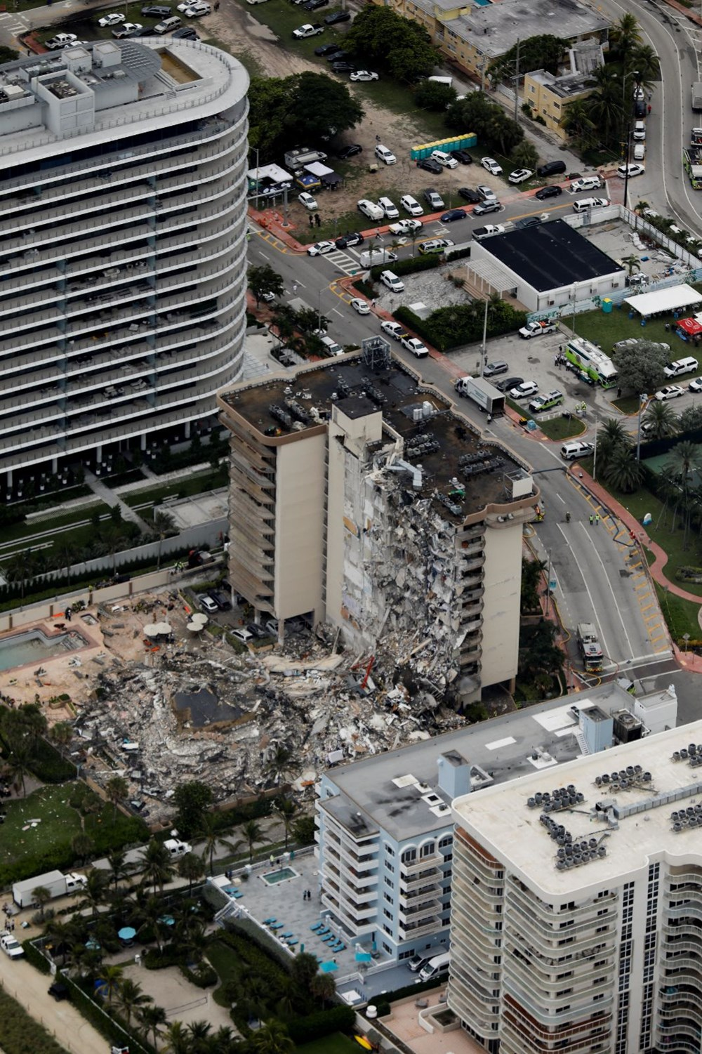 Building collapsed in the USA: Loss of life increased to 4, 159 people missing - 34