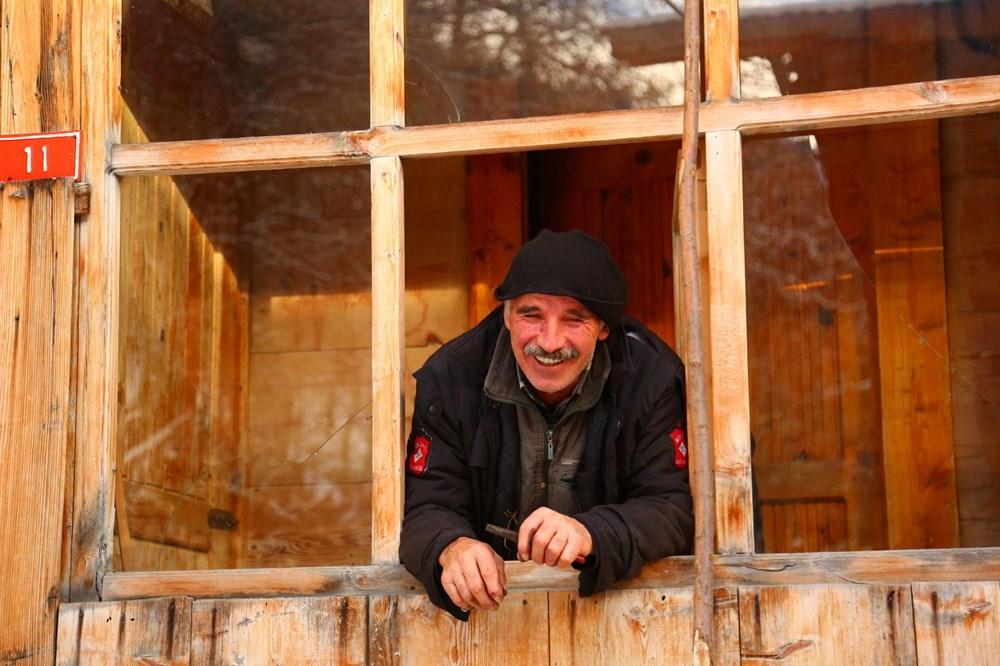 Artvin'deki 2 bin rakımlı Maden Köyü'nde kışı böyle geçiriyorlar - 7