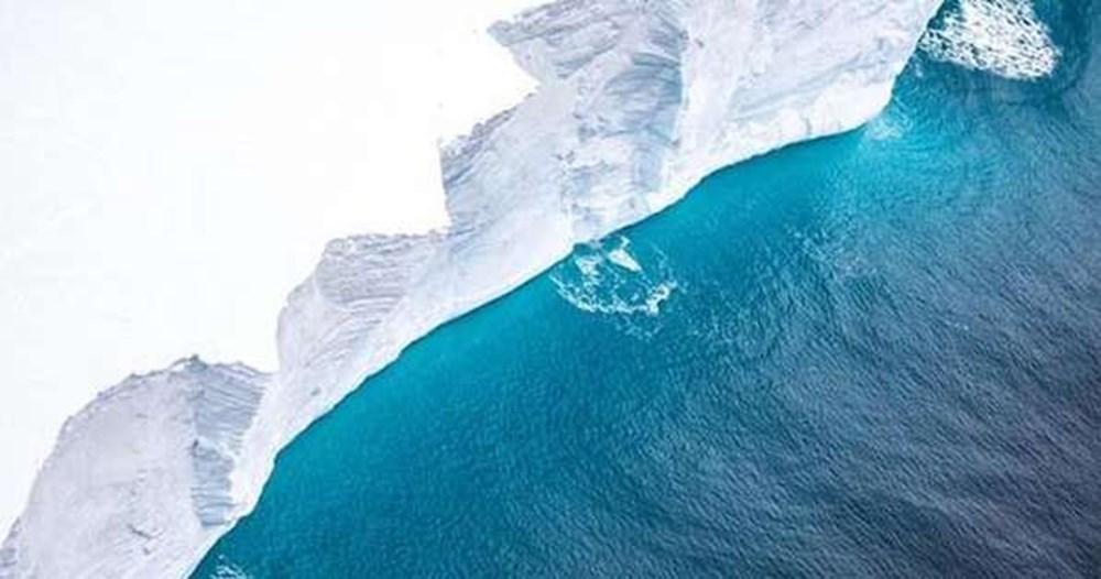 Dünyanın en büyük buzdağı parçalanmaya devam ediyor: Milyonlarca penguen ve deniz canlısı tehdit altında - 6