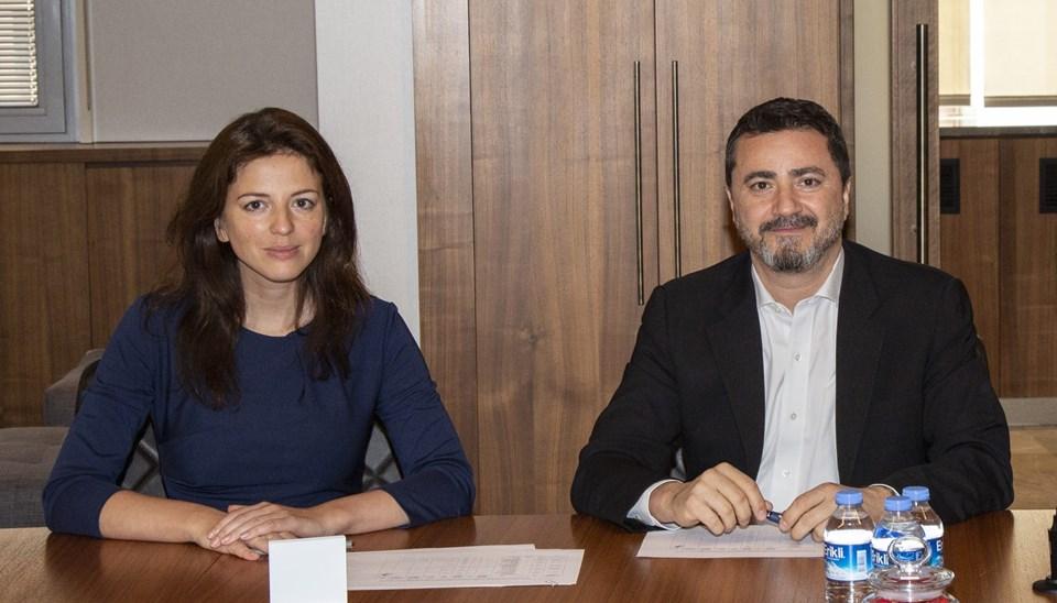 EBRD Venture Capital Investment Programme'dan Maria Barsuk, ve Modanisa Yönetim Kurulu Başkanı Kerim Türe