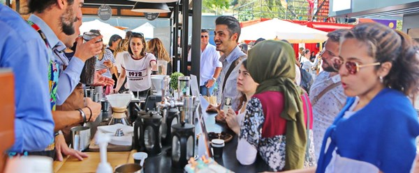 6. İstanbul Coffee Festival Eylül'de KüçükÇiftlik Park'ta