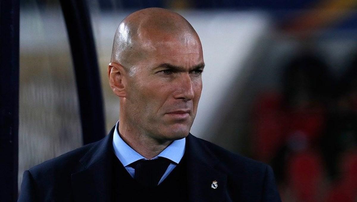 Zinedine Zidane corona virüse yakalandı