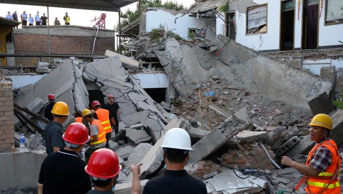 Çin'de restoran çöktü: Ölü sayısı29'a yükseldi