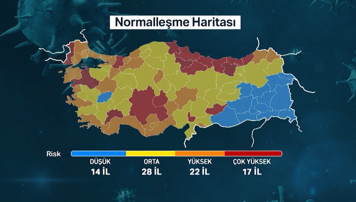Two provinces that attract attention in the risk map: Uşak and Adıyaman