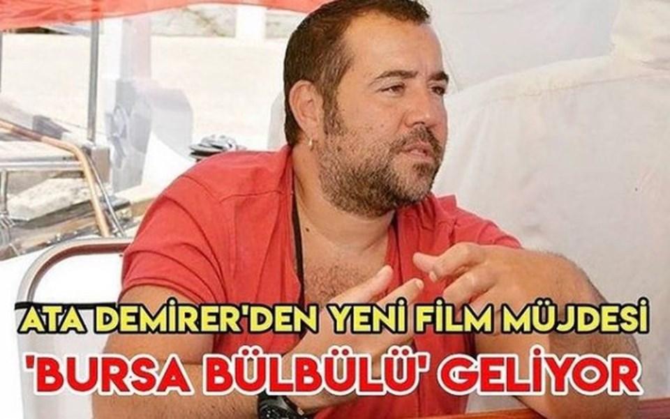 Ata Demirer, yeni film duyurusunu bu fotoğrafı Instagram'da paylaşarak yaptı.