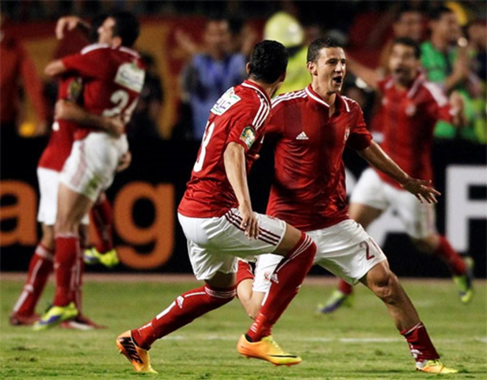 Ahmed Abduzzahir'in gol sevinci