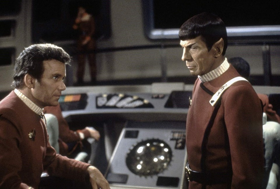 Leonard Nimoy ve William Shatner