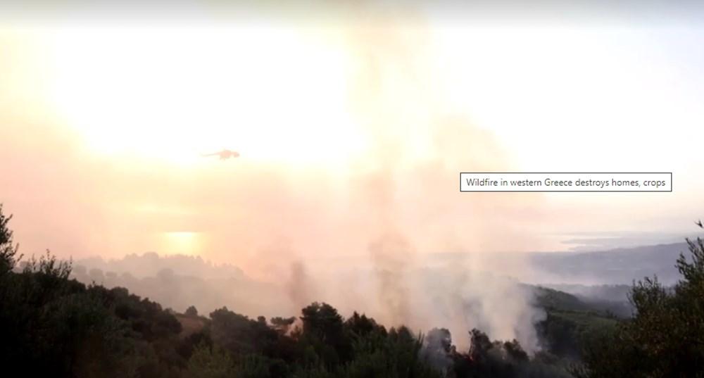 Akdeniz alev aldı: Yunanistan ve İtalya'da orman yangınları sürüyor - 37