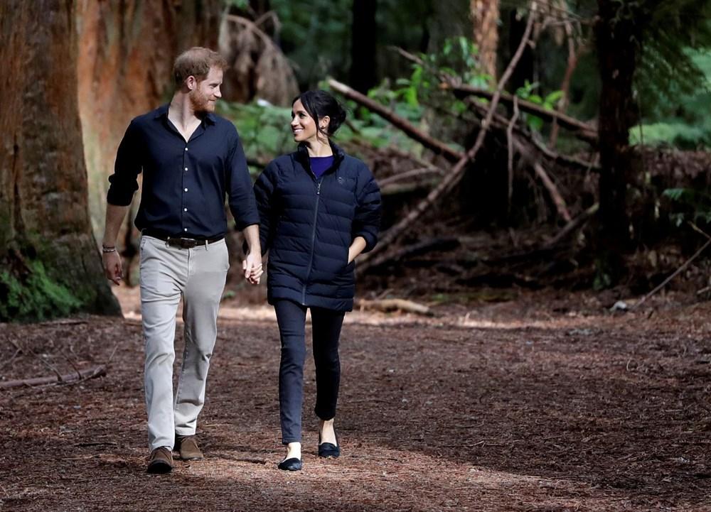 Prens Harry ve eşi Düşes Meghan Markle ikinci çocuklarını beklediklerini açıkladı - 8