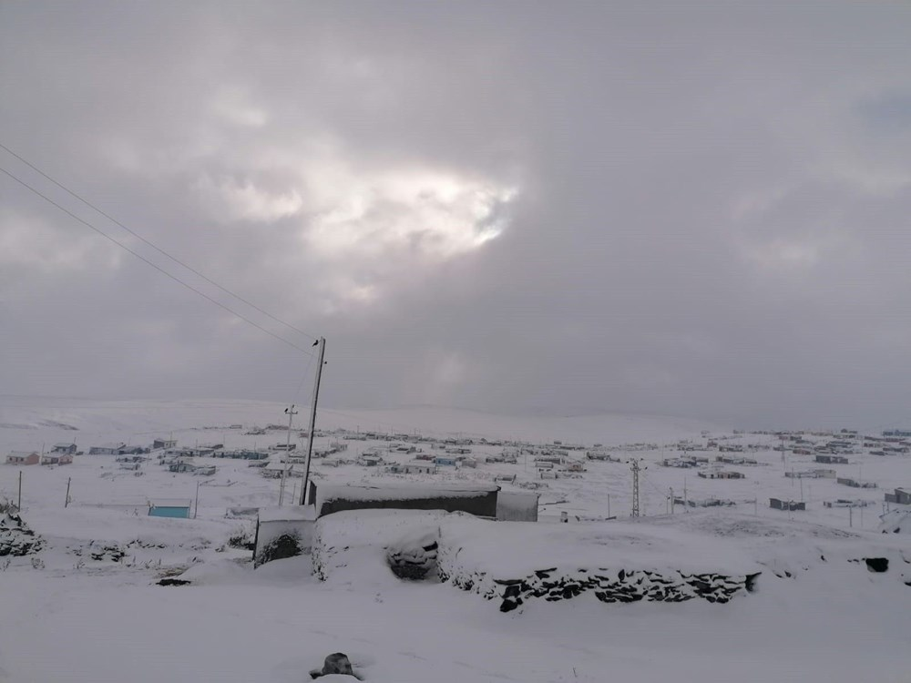 Kar etkili oldu: Yaylacıların dönüş hazırlıkları erken başladı - 2