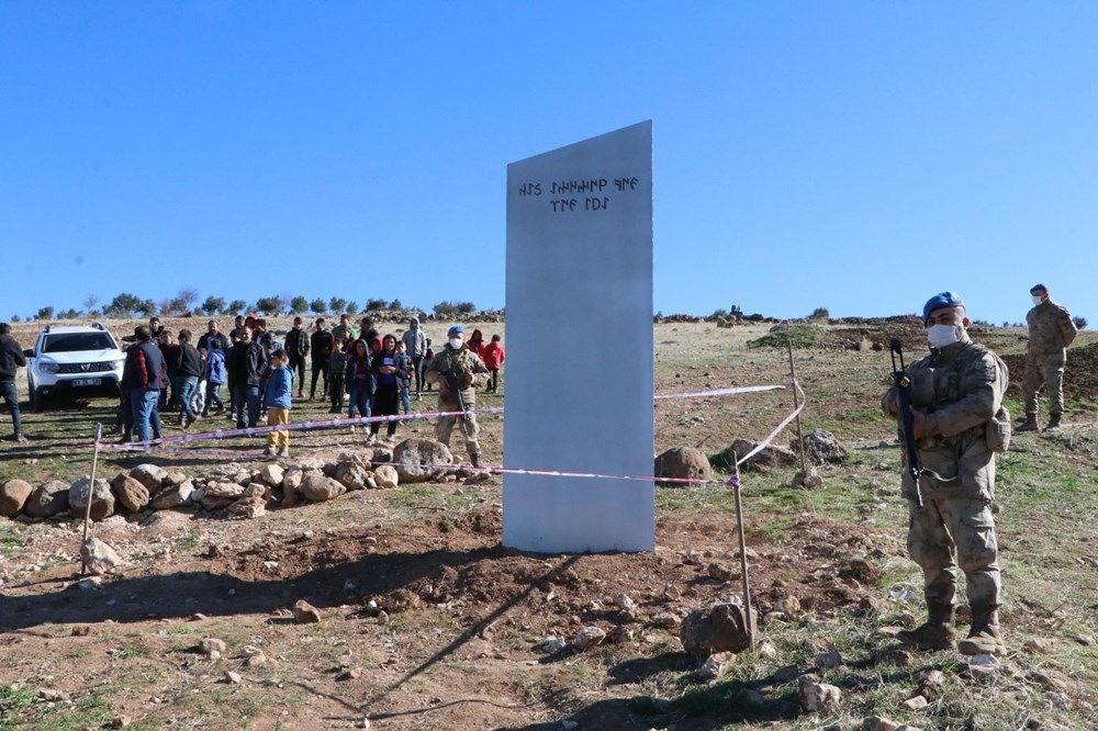 Göbeklitepe'de bulunan monolit kaldırıldı - 1