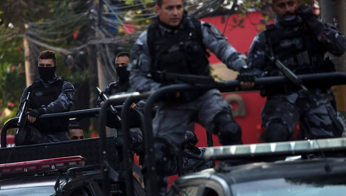 Brezilya'da uyuşturucu örgütüne büyük operasyon: 422 gözaltı