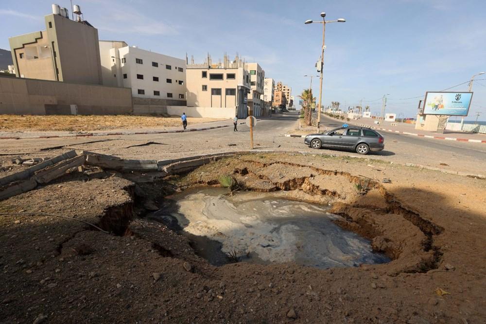 İsrail'in Gazze'ye saldırılarının bir haftalık bilançosu: 200 ölü, bin 307 yaralı - 4