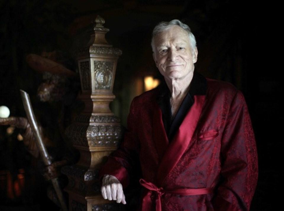Playboy'un kurucusu Hugh Hefner 89 yaşında.
