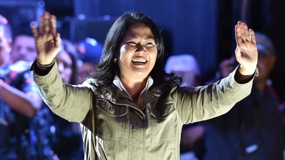 Peru'da 5 Haziran'da yapılacak devlet başkanlığı seçimleri için eski devlet başkanı Alberto Fujimori'nin kızı Keiko Fujimori de yarışıyor.