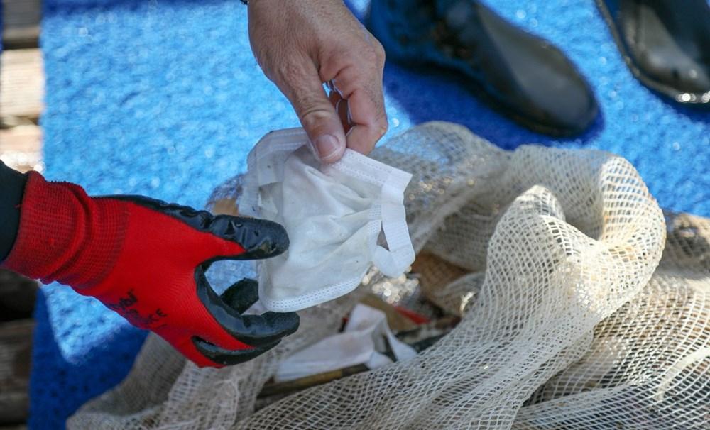 Deniz tabanı maske ve eldiven dolu - 3