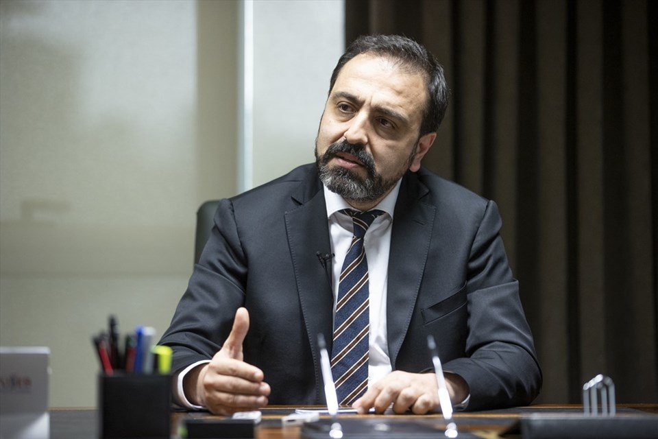 TÜSEB President Prof.  Dr.  Erhan Akdogan