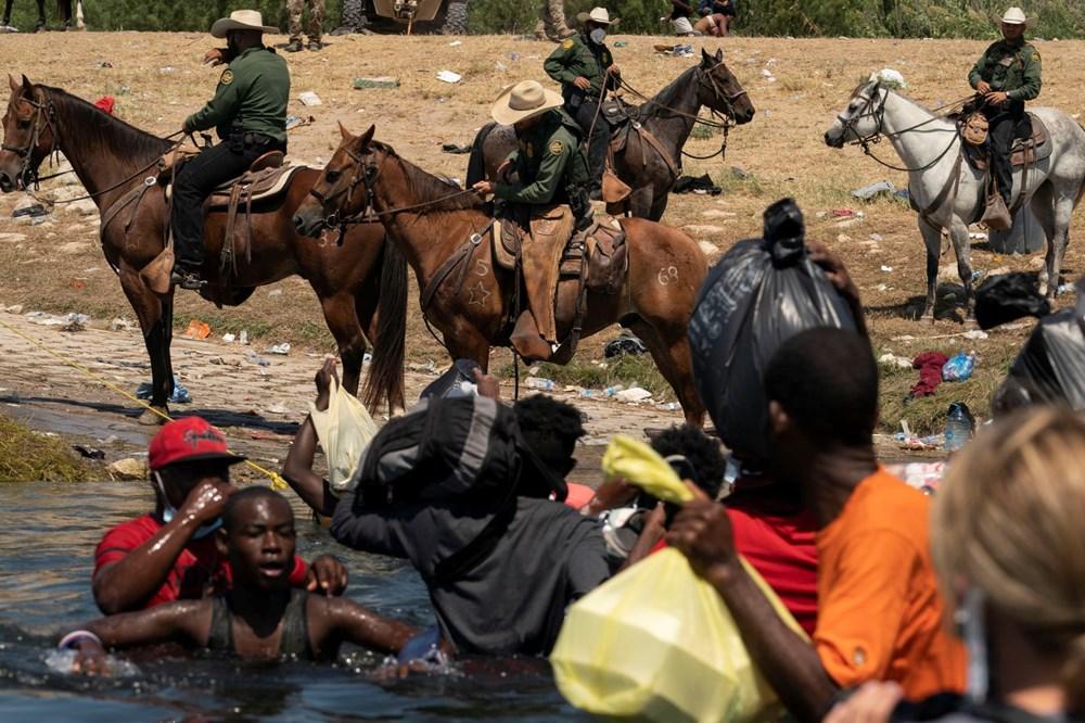 ABD'li sınır muhafızları kementlerle göçmenlere saldırdı: Beyaz Saray özür diledi - 4