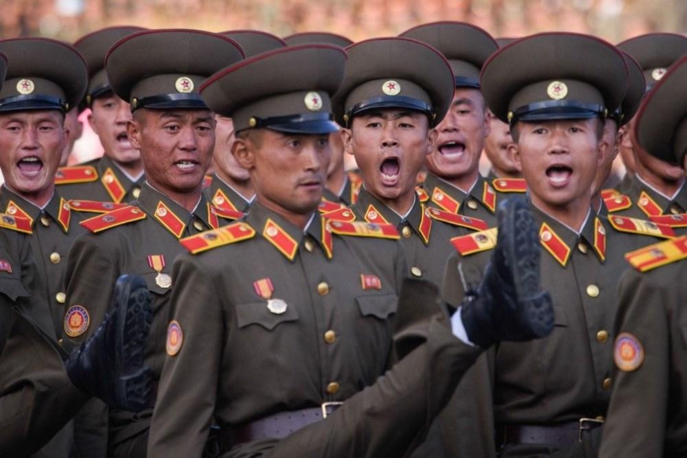 Kuzey Kore tarihi geçit törenine hazırlanıyor - 11