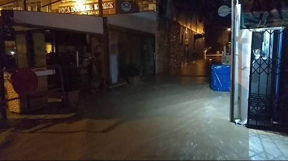 İzmir'i sel vurdu: 2 can kaybı - 22