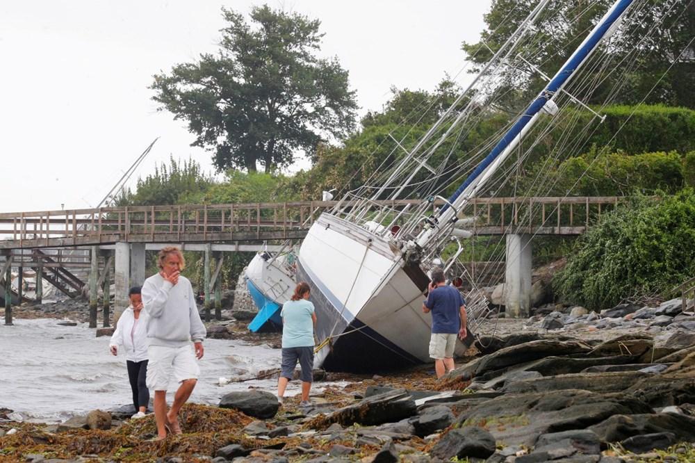 ABD'de Henri Kasırgası etkili oluyor: 140 bin haneye elektrik verilemiyor - 19