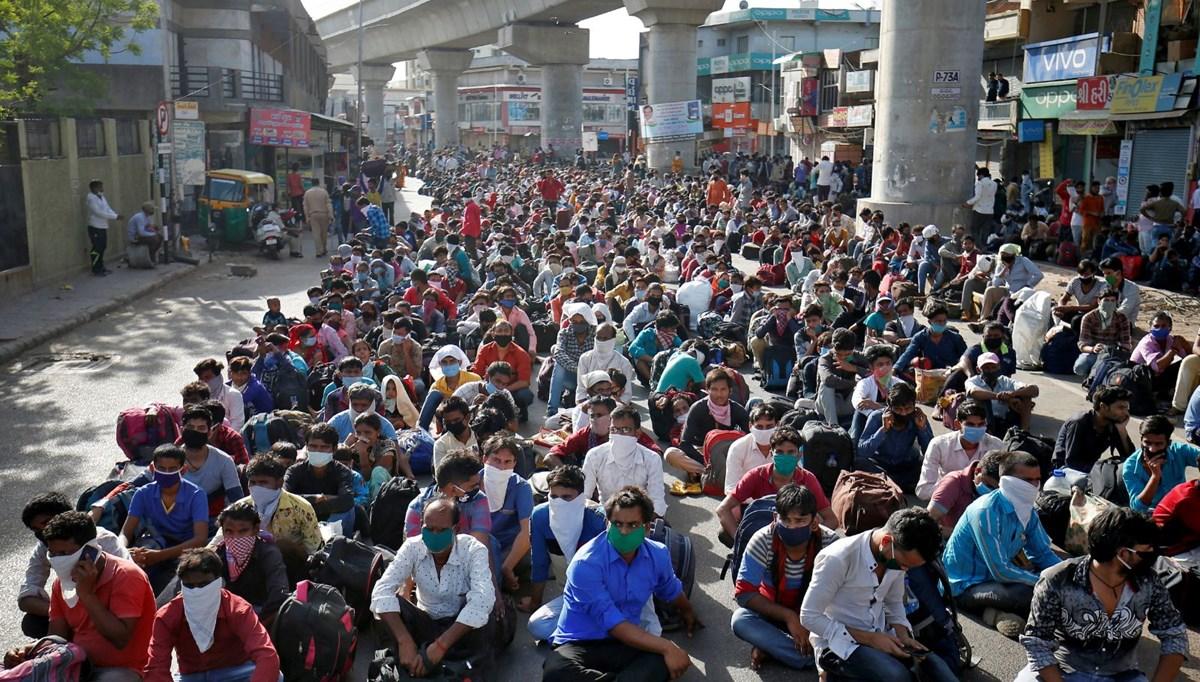 Yeni Delhi nüfusunun yaklaşık üçte birinde, Covid-19 antikorları tespit edildi