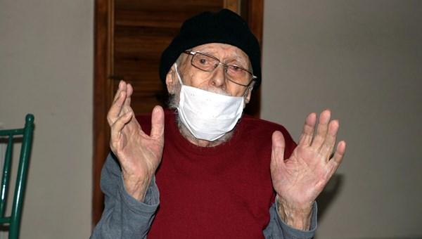 93 yaşında corona virüsü yendi, horon oynayarak taburcu oldu