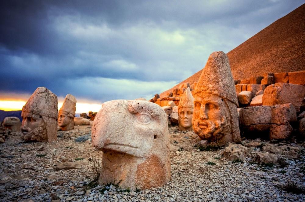 Kralların ve tanrıların taşlaştığı yer Nemrut - 8
