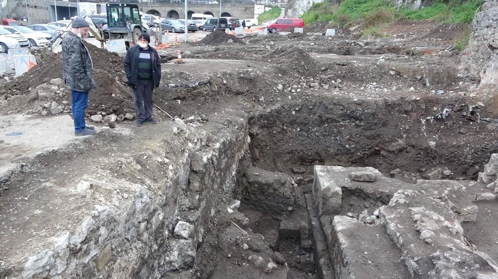 'Trabzon'un Göbeklitepe'sinde turizm hedefi: Hadrianus - 7