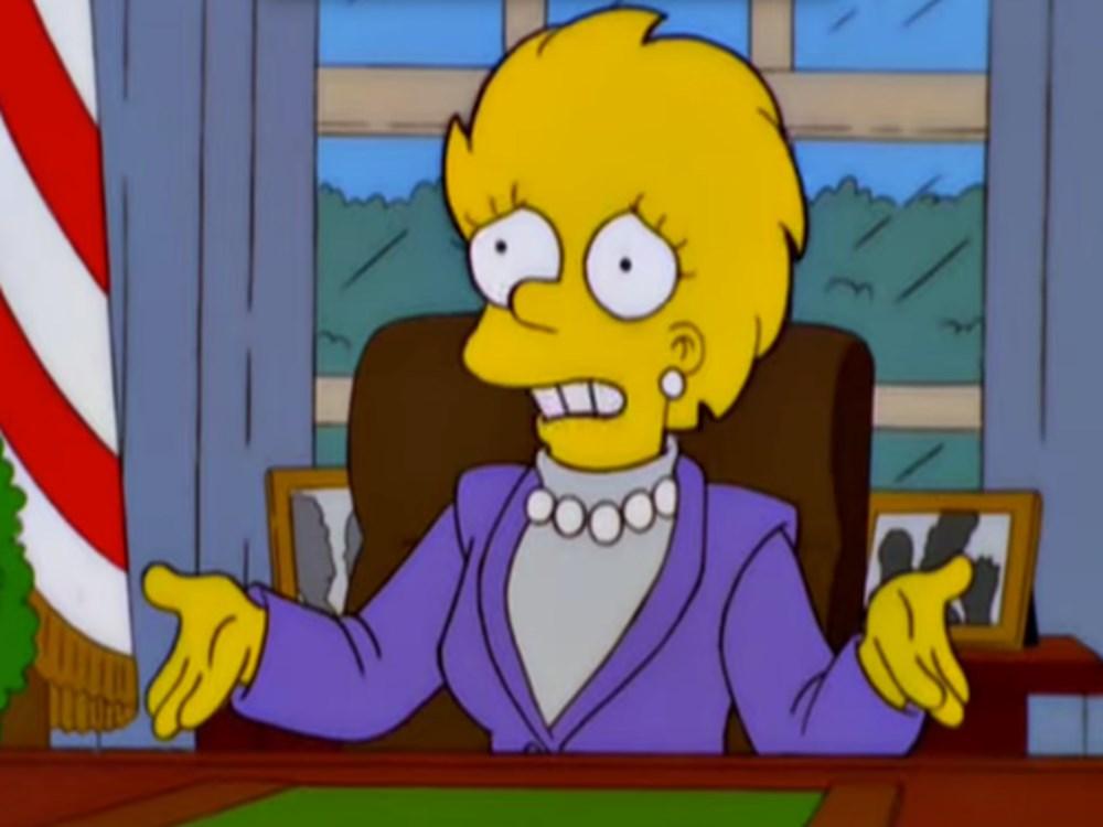 Simpsonlar'ın (The Simpsons) kehaneti yine tuttu: Biden ve Harris'in yemin törenini 20 yıl önceden bildiler - 19