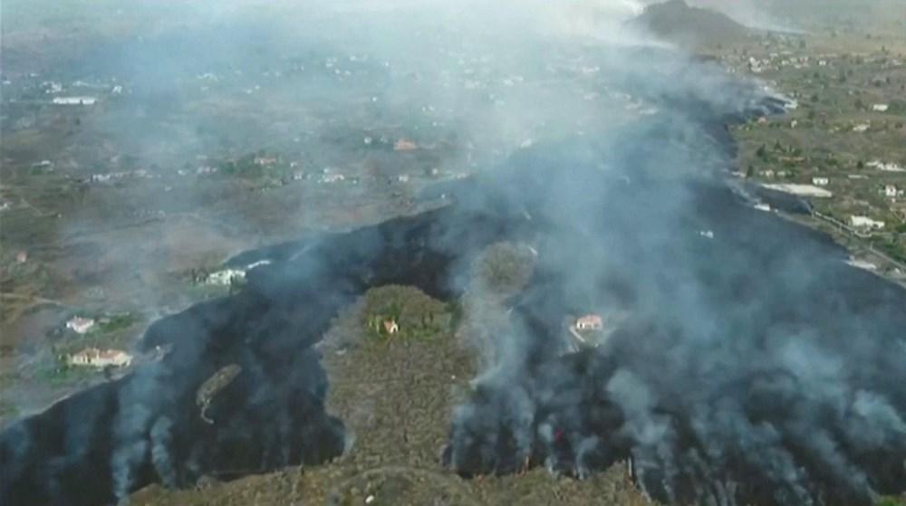 Kanarya Adaları'nda aktif hale gelen yanardağda patlamaların şiddeti arttı - 4