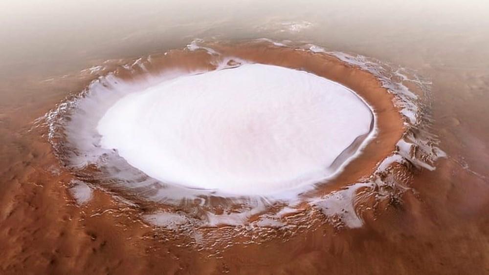 Mars'ta hayat var mı?  Kızıl Gezegen'deki göllere ilişkin yeni keşif