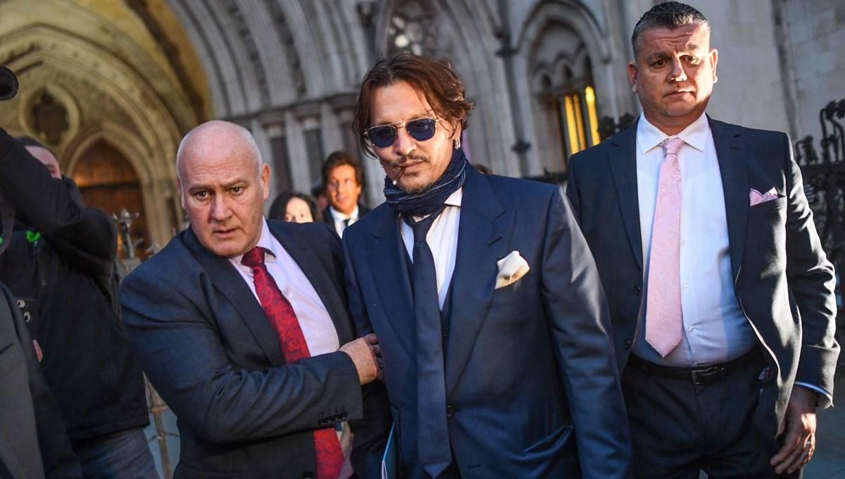 Johnny Depp, Amber Heard'ün açtığı 100 milyon dolarlık davayı kaybetti