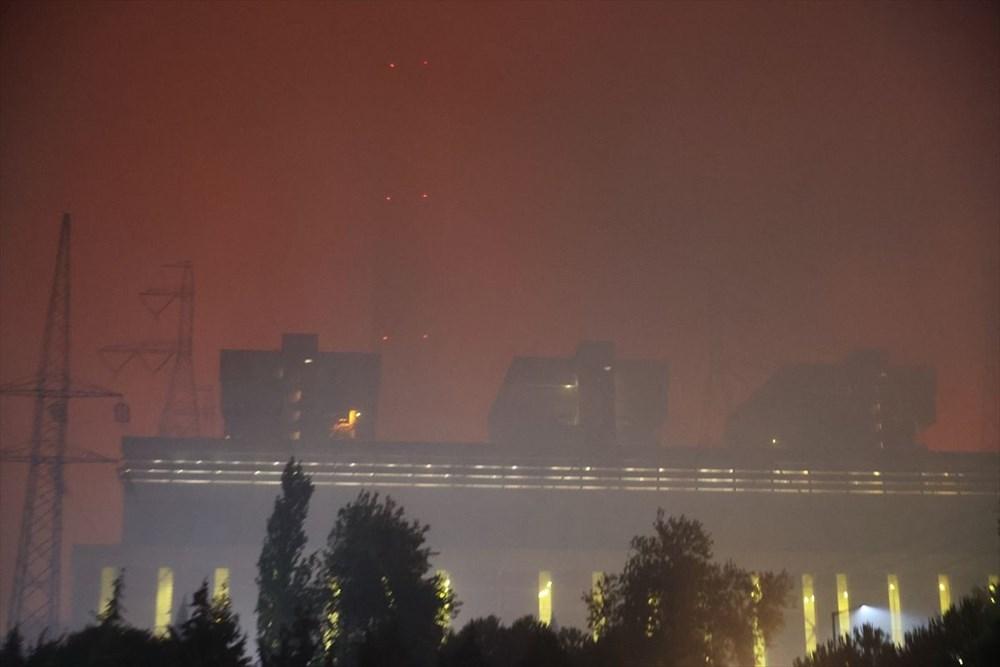 Milas'ta yangın bölgesindeki vatandaşlar tahliye ediliyor - 12