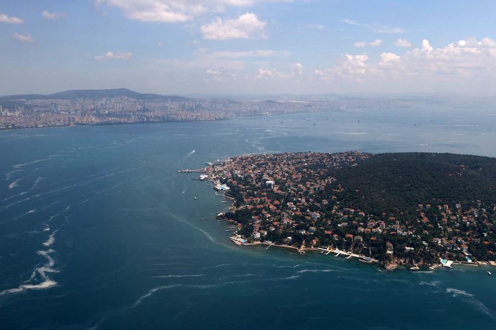 Müsilaj havadan görüntülendi: Deniz salyası her yerde - 15