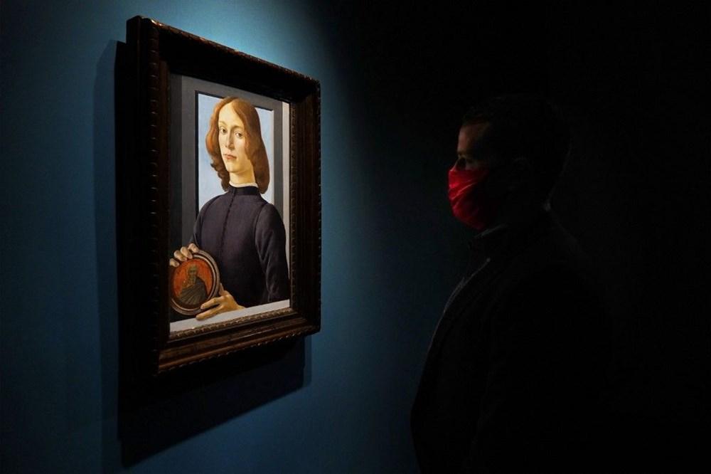 Botticelli'ye ait tablo 2021'in müzayede rekorunu kırdı: 92 milyon dolar - 4