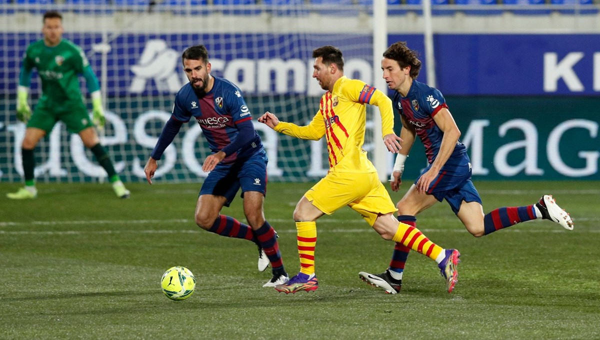 Messi, La Liga'da 500. maçına çıktı