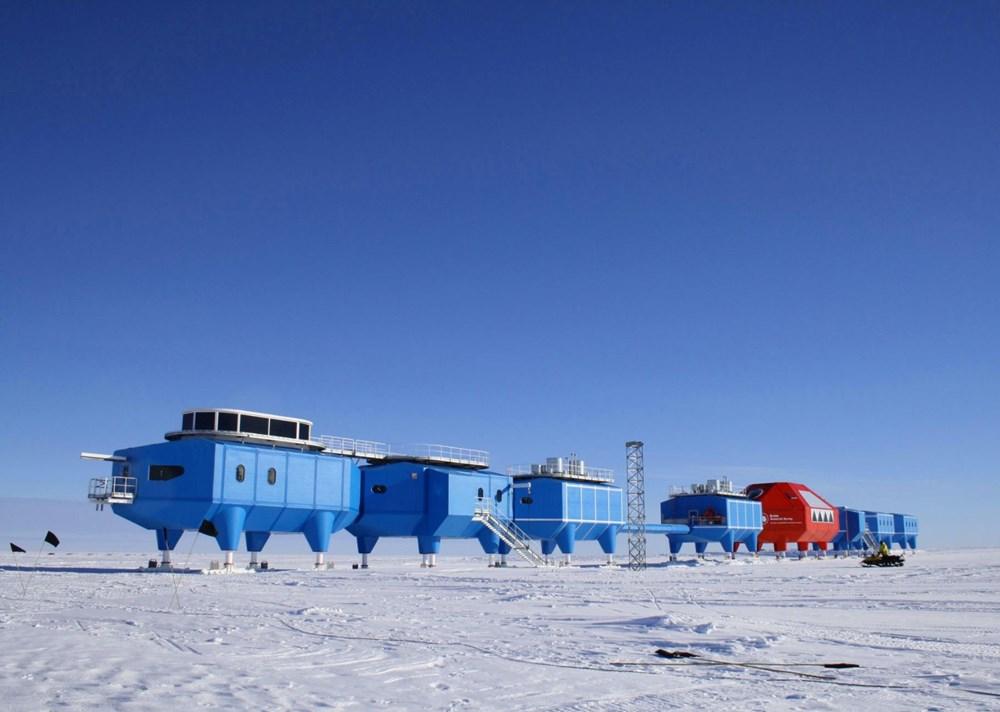 Antartika'da dev buz kütlesi buz sahanlığından koptu - 4