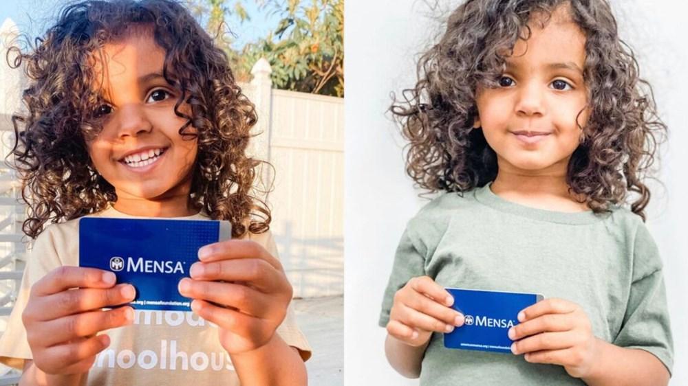 3 yaşında dünyanın en küçük üstün zekalısı oldu: İspanyolca öğreniyor, tenis oynuyor - 2