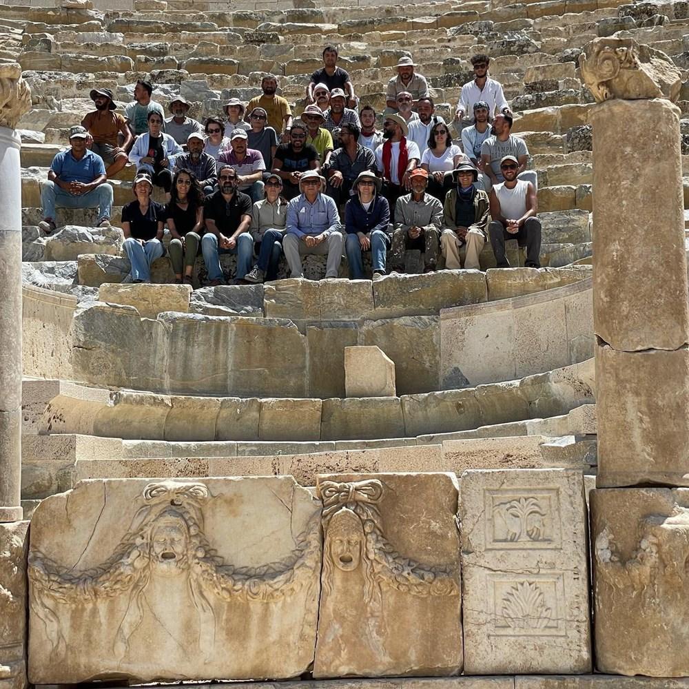 Laodikya Antik Kenti'ndeki 2 bin 200 yıllık antik tiyatronun restorasyonu tamamlandı - 5
