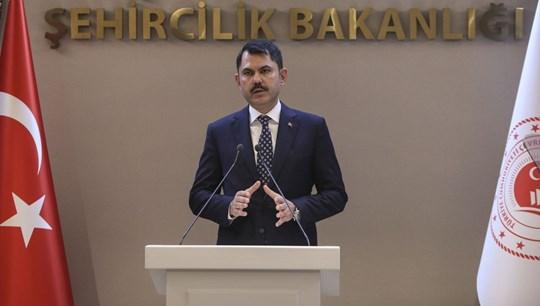 Bakan Kurum: Elazığ ve Malatya'daki konutları bir yılda bitireceğiz