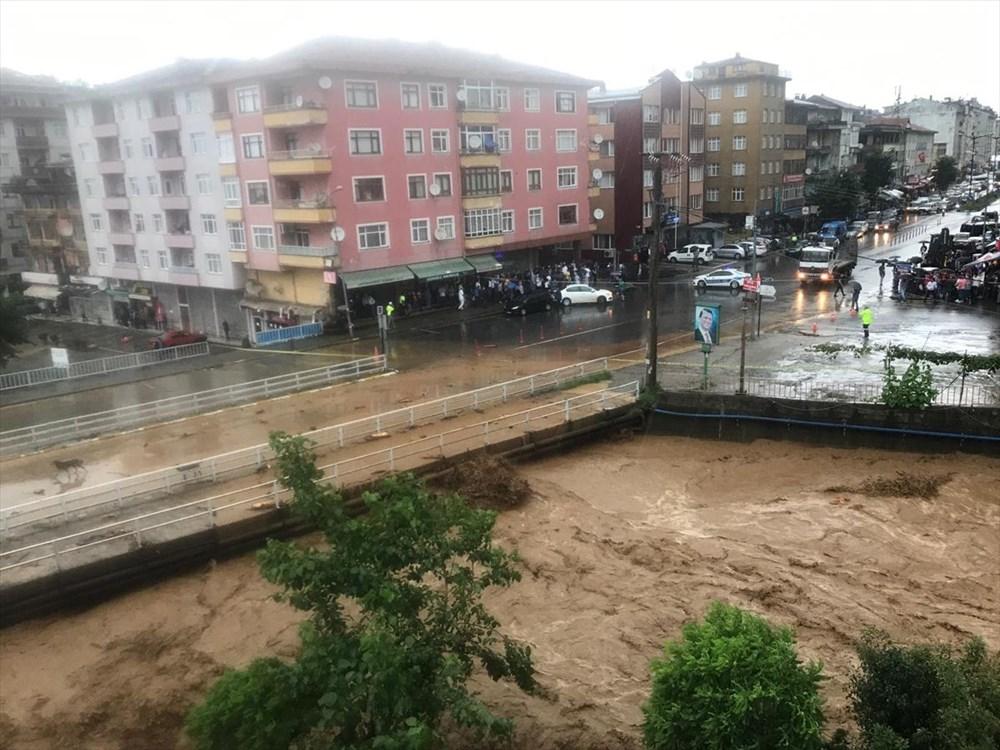 Şiddetli yağış Rize'yi de vurdu: 2 can kaybı - 22
