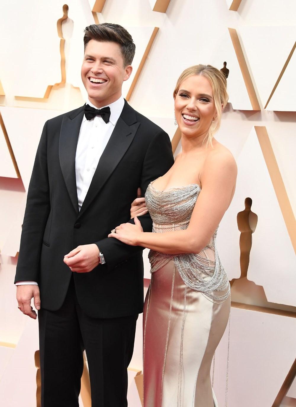 Scarlett Johansson ile komedyen Colin Jost evlendi - 6
